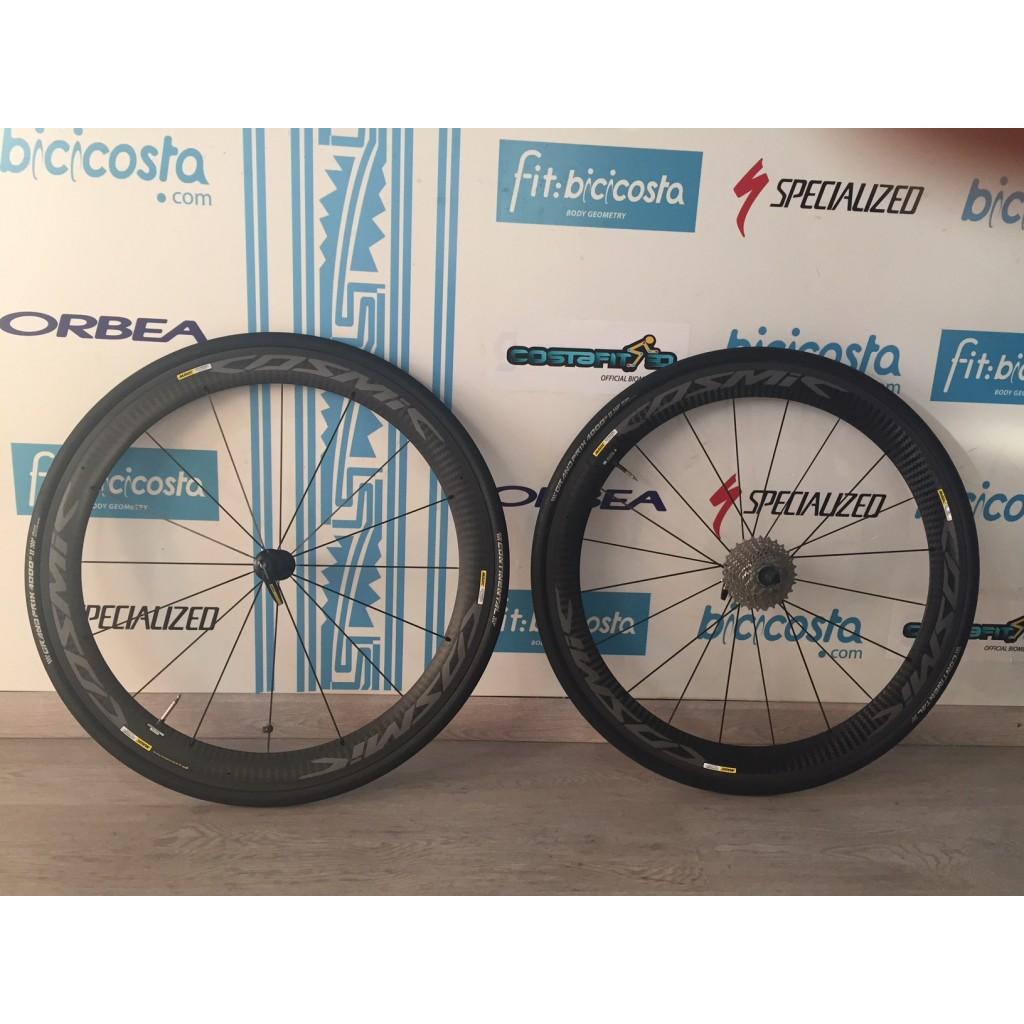 Ruedas Mavic Pro Carbon Exalith