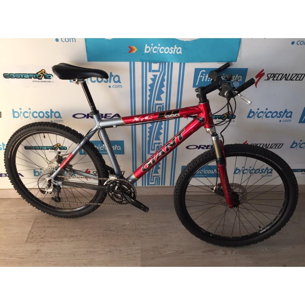 Bicicleta Giant XTC Aluminio talla M